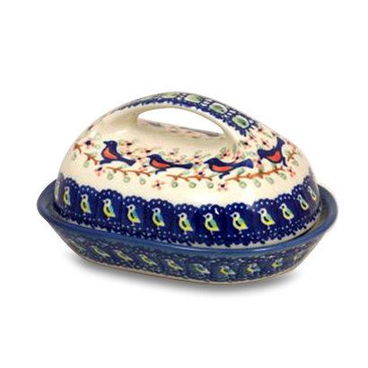 Robin Butter Dish w/ Handle