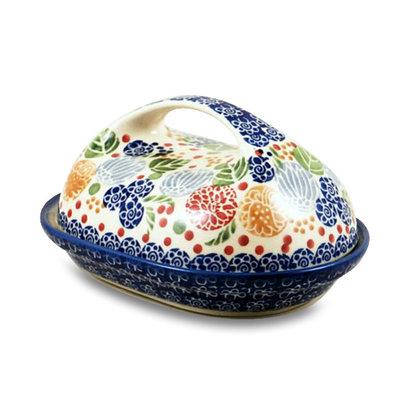 Rennie Butter Dish w/ Handle