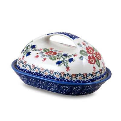 Lidia Butter Dish w/ Handle