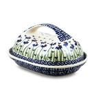 Addie Jo Butter Dish w/ Handle
