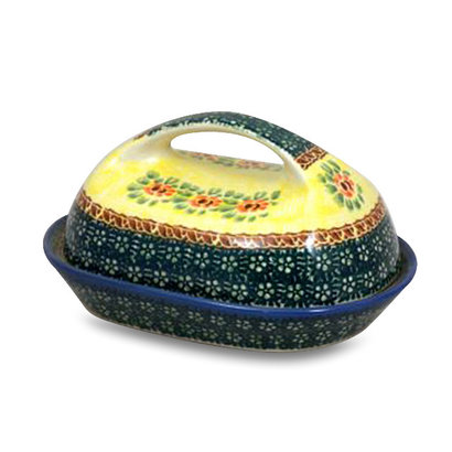 Rose Marie Butter Dish w/ Handle