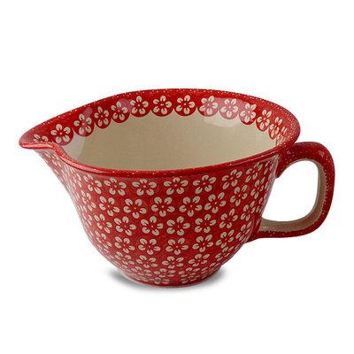 Scarlet Blossom Batter Bowl
