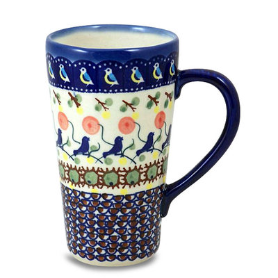 Blue Bird Tall John Mug