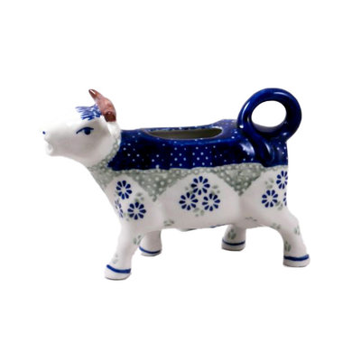 Forget Me Nots Cow Creamer