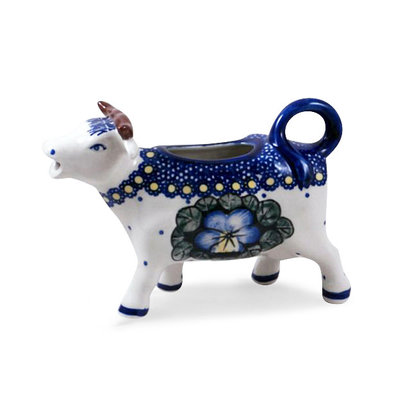 Pansies Cow Creamer