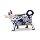 Indigo Garden Cow Creamer