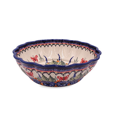 Butterfly Hugs Shallow Serving Bowl