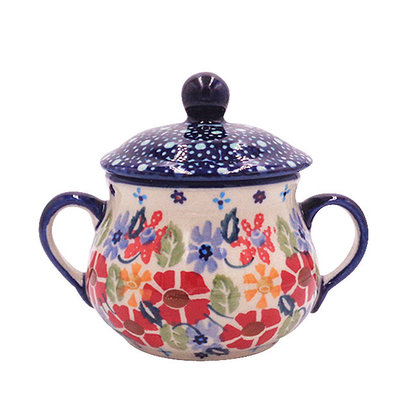 May Flowers Sugar Bowl