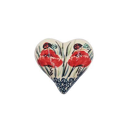 Lady Bug Heart Box