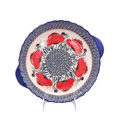 Lady Bug Pie Plate