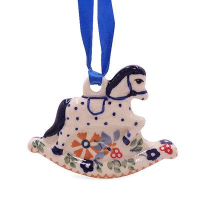 Posies Horse Ornament