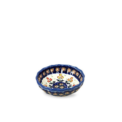 Mums Scalloped Bowl 12 - Reserved