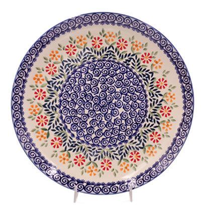 Marigolds Dinner Plate 28 - Reserved