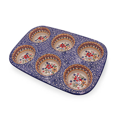 Posies Muffin Pan - Reserved