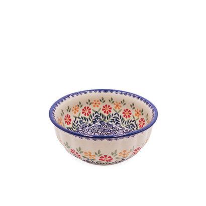 Marigolds Bowl F18 Fluted Chili Bowl