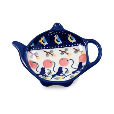 Blue Bird Tea Bag Caddy