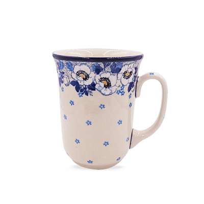 Snow Poppy Bistro Mug