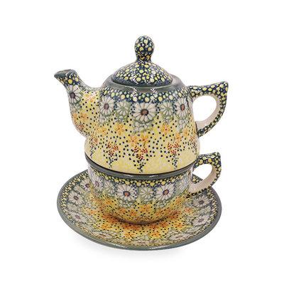 Roksana Stacked Teapot & Cup