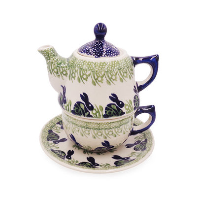 Beatrix Stacked Teapot & Cup