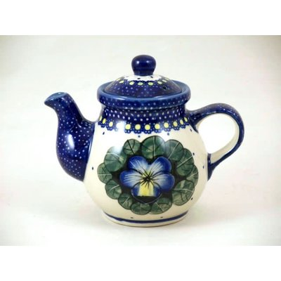 Pansies Tea for One Teapot
