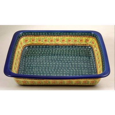 Rose Marie Deep Rectangular Baker