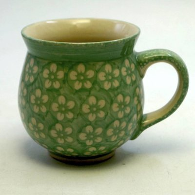 Mint Blossom Bubble Mug - Lrg