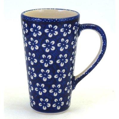 Blue Blossom Tall John Mug
