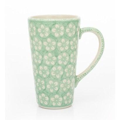 Mint Blossom Tall John Mug