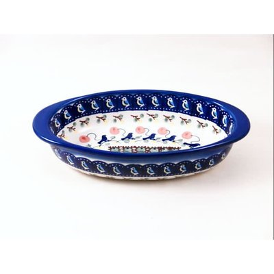 Blue Bird Oval Baker - XSm