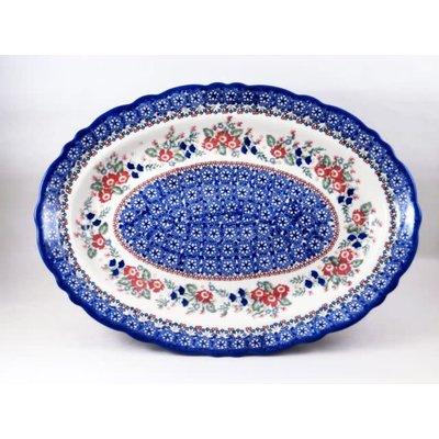 Lidia Scalloped Basia Platter