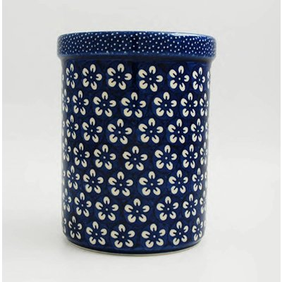 Blue Blossom Utensil Holder