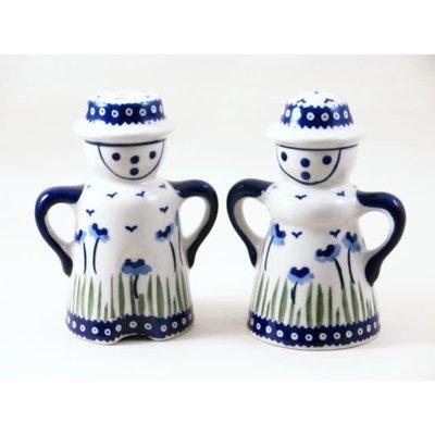 Blue Poppies Man/Wo Salt & Pepper