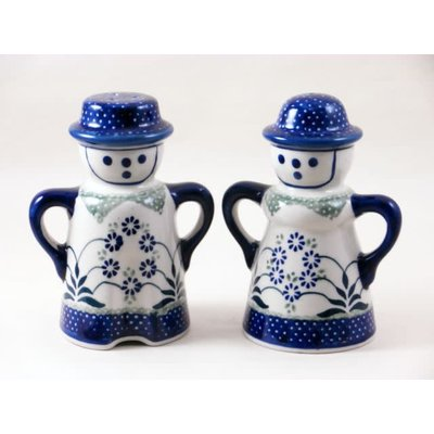 Forget Me Nots Man/Wo Salt & Pepper