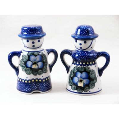 Pansies Man/Wo Salt & Pepper