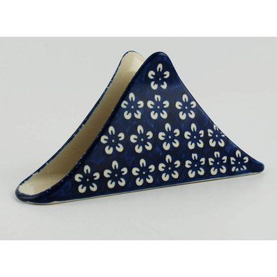 Blue Blossom Triangular Napkin Holder