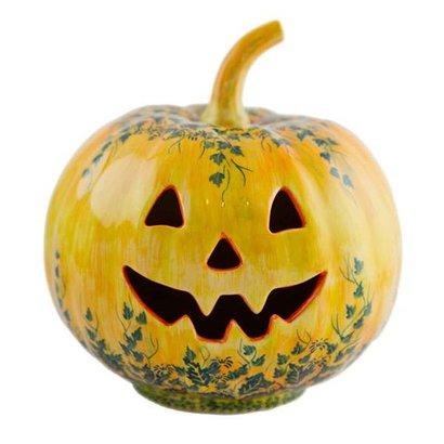 Autumn Pumpkin Lantern - Lrg