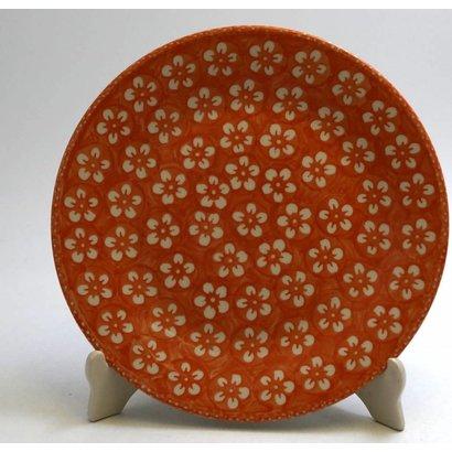 Orange Blossom Salad Plate 22