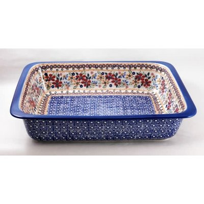 Posies Deep Rectangular Baker