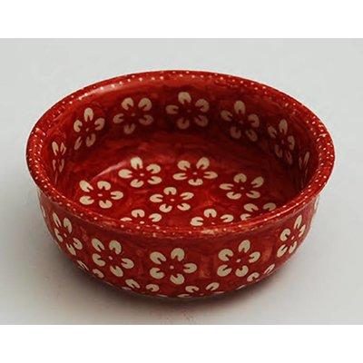 Scarlet Blossom G13 Dessert Bowl