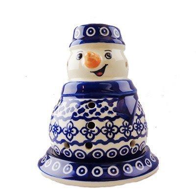 Diamond Lattice Illuminated Snowman