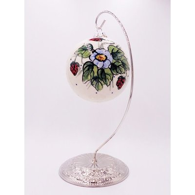 Berries & Cream Christmas Ball
