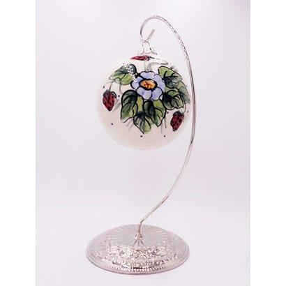 Berries & Cream Christmas Ball