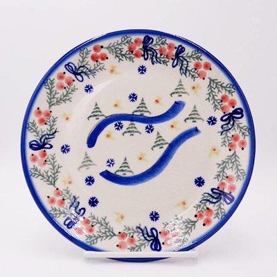 Winter Dessert Plate 19