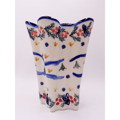 Winter Lilia Vase