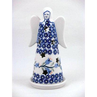 Bell Flower Illuminated Angel - Sm