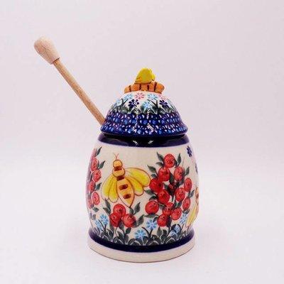 Kalich Red Berries Honey Pot