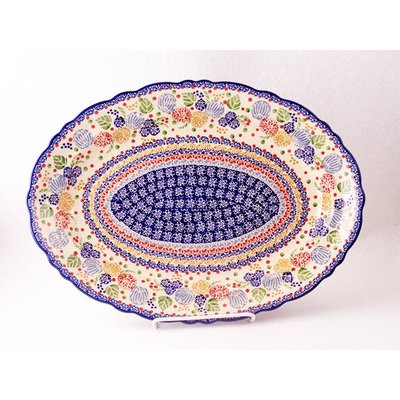 Rennie Scalloped Basia Platter