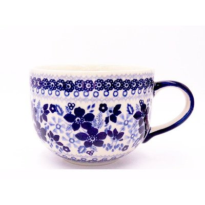 Indigo Garden Latte Cup