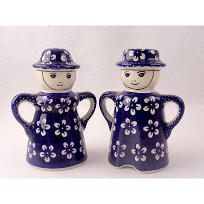 Blue Blossom Man/Wo Salt & Pepper