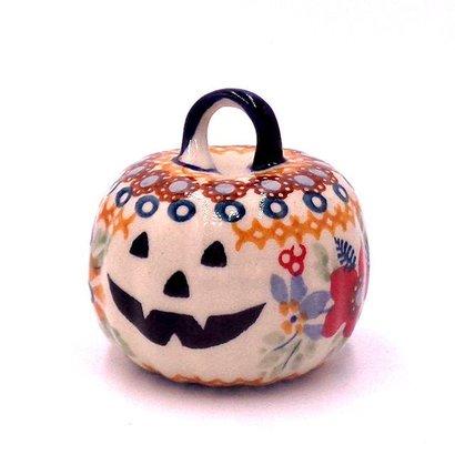 Posies Pumpkin Ornament